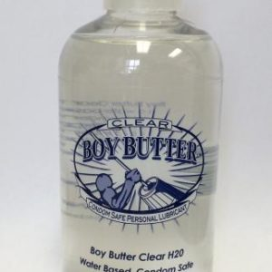 Boy Butter Clear Personal Lubricant 4oz