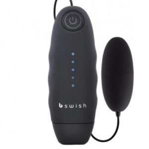 Bnaughty Vibrating Bullet - Black