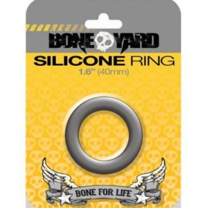 Boneyard Silicone Ring 1.6 inches Gray