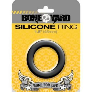 Boneyard Silicone Ring 1.8 inches Gray