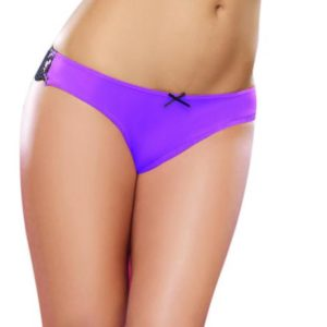 Cheeky Panty Medium Iris Black
