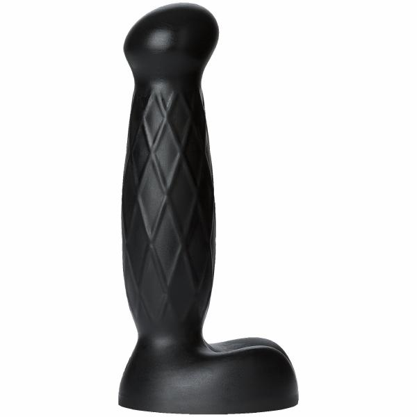 Truskyn Tru Feel Dual Density Dildo - Black