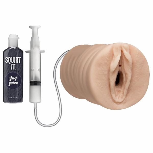 Squirt It Squirting Pussy Vanilla Beige Stroker