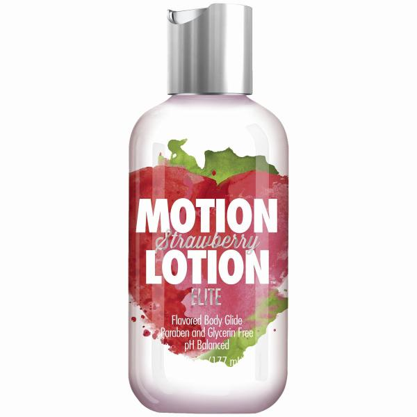 Motion Lotion Elite Strawberry 6oz