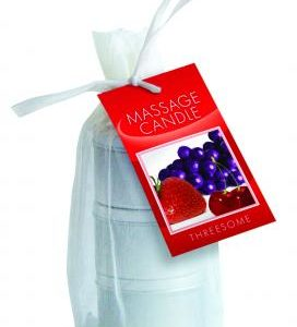 Candle 3 Pack Edible Cherry