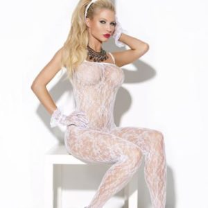 Vivace Body Stocking White O/s