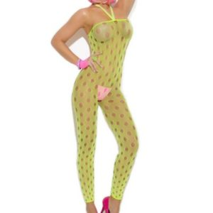 Vivace Footless Bodystocking Light Green O/s
