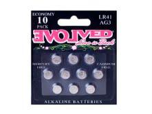 Evolved LR44 Batteries 10 Pack