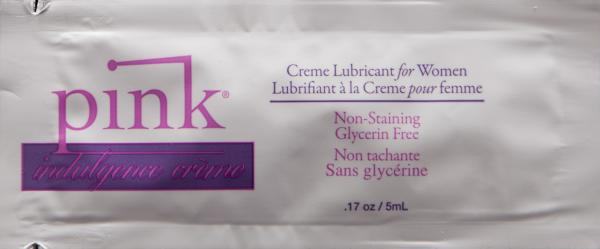 Pink Indulgence Lubricant Foil Pack