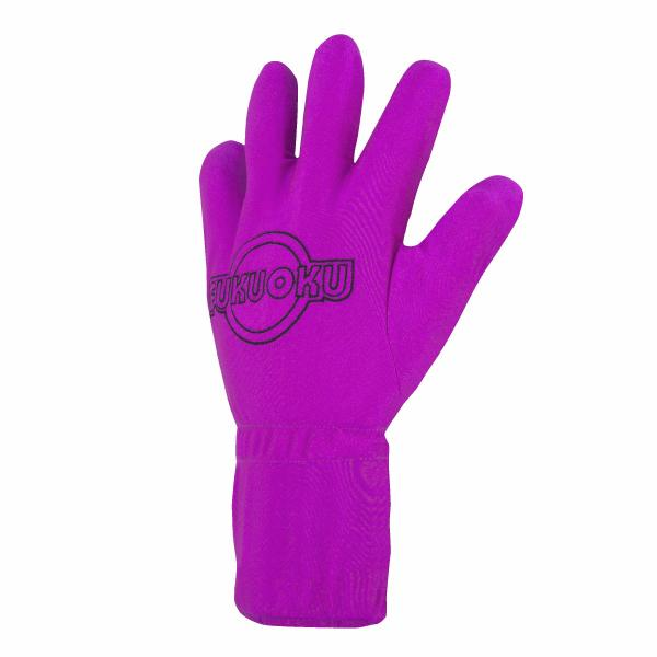 Fukuoku 5 Finger Massage Glove Left Hand -Pink - Small