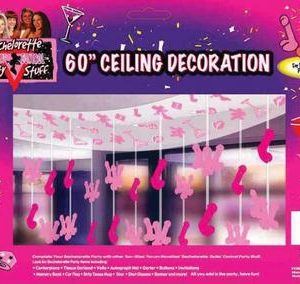Bachelorette 60in Penis Ceiling Decor