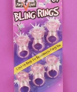 Bachelorette Light Up Bling Rings