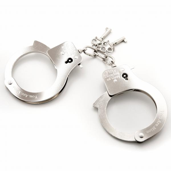 Fifty Shades Metal Handcuffs Original