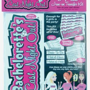 Bachelorette Party Iron On Kit 6 Pack