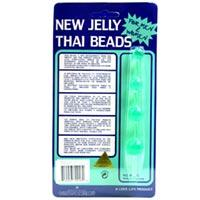Jelly Thai Beads Green