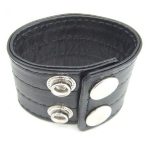 H2H Ball Stretcher Leather 1.5 inches Black
