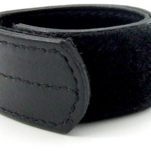 H2H Ball Stretcher Leather Velcro 1 inch Black