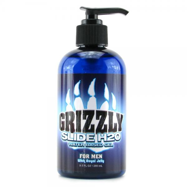 Grizzly for Men Slide H20 Lube 9.5oz