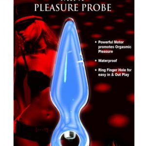Mini Pleasure Probe Vibe Blue