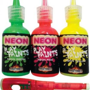 Neon Body Paints 3 Pack Carded