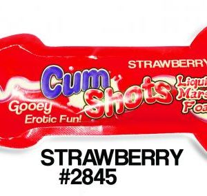 Cum Shots Marshmallow Foam Candy Strawberry