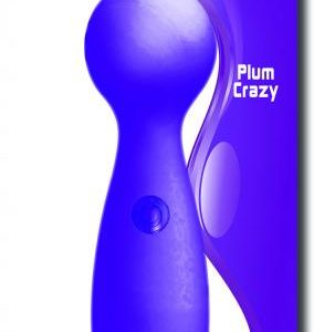 Ball Crazy Plum Purple Vibrator