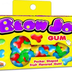 Blow Job Pecker Shaped Bubble Gum Fruit Flavored