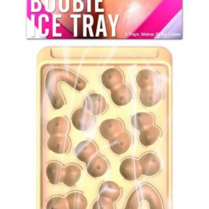Boobie Ice Cube Tray Assorted Shapes 2 Pack