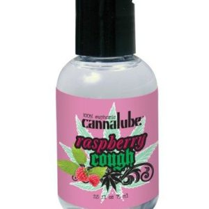 Cannalube Raspberry Flavored Lubricant 2.5oz