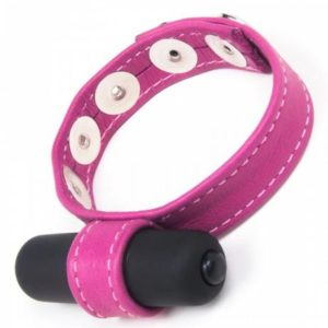 Joanna Angel Cock Ring with Bullet Vibe Pink