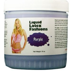 Liquid Latex Body Paints Solid Purple 16oz