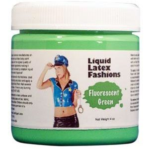 Liquid Latex Fashions Fluorescent Green 16oz