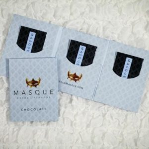 Masque 3 Strip Wallet Pack Chocolate