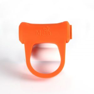 Adam Rechargeable Vibrating Ring Orange