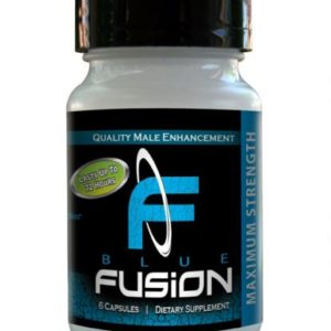 Blue Fusion For Men 6 Capsules Bottle