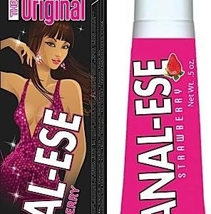 Anal Ese Lubricant Strawberry.5oz