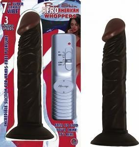 Afro American Whopper Vibrator - 7 inch