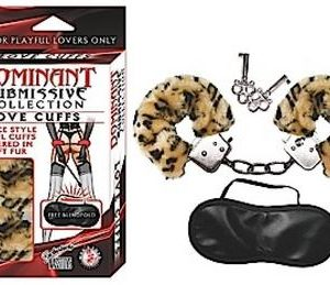 Dominant Submissive Love Cuff Leopard