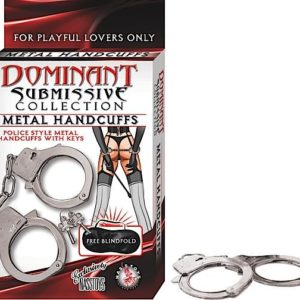 DOMINANT METAL HANDCUFFS