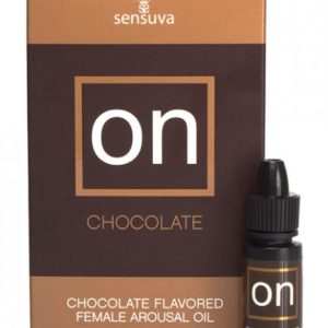 On Chocolate Flavored Arousal Oil 5ml Bottle