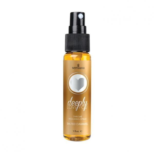 Deeply Love You Salted Caramel Throat Relaxing Spray 1oz