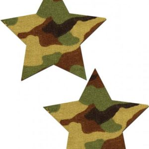 Pastease Rockstar Camo Pasties O/S