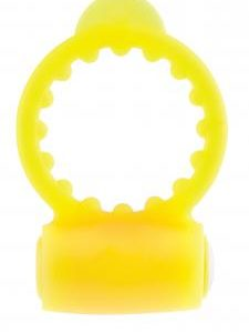 Neon Vibrating C Ring - Yellow