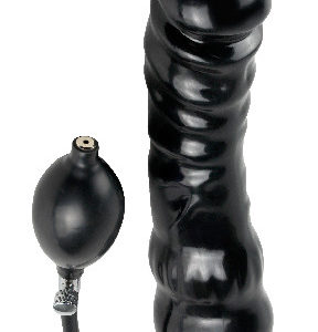 Inflatable Ass Black