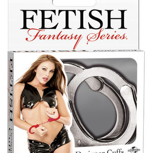 Fetish Fantasy Silver Metal Cuffs