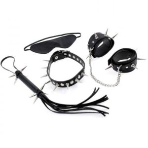 Rock Hard Bondage Kit 4 Pieces Black