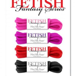 Fetish Fantasy Series Mini Silk Rope Sampler