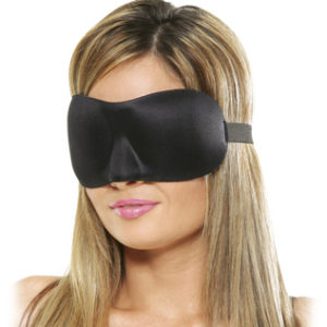 Deluxe Fantasy Love Mask Black O/S