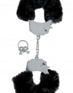 Fetish Fantasy Limited Edition Black Furry Cuffs