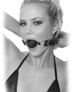 Limited Edition Breathable Ball Gag Black O/S